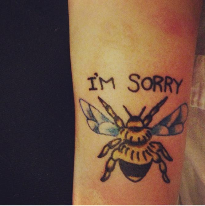 I'm Sorry, Honey Bee