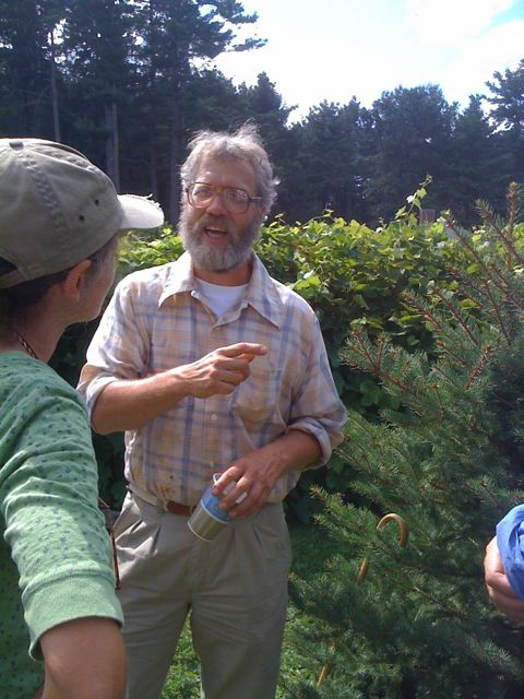 Kirk Webster, Commercial beekeeper from Vermont's Champlain Valley