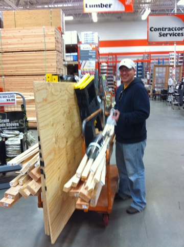 Jerod at Home Depot