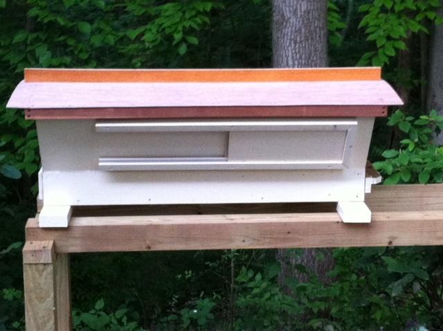 Bob's top-bar hive