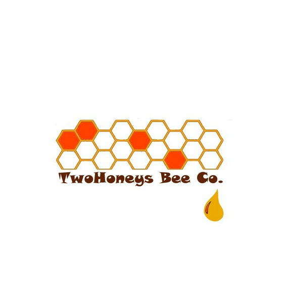 TwoHoneys Bee Co. T-shirt design